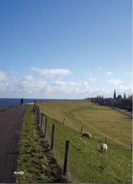 Literaire fietsroute Westfriese omringdijk