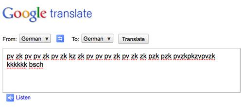 Vette beats maken met Google Translate