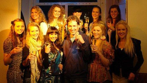 Finalisten Miss West-Friesland Verkiezing