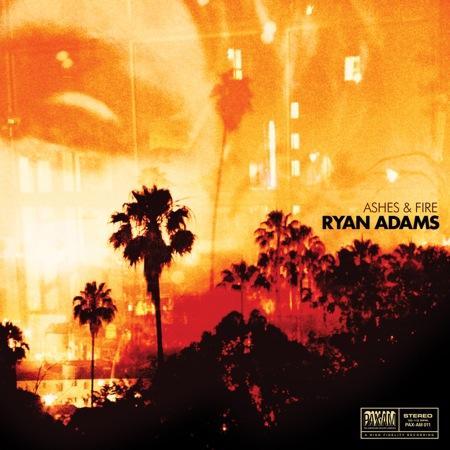 Nieuw album Ryan Adams Ashes & Fire 10 oktober 2011 uit