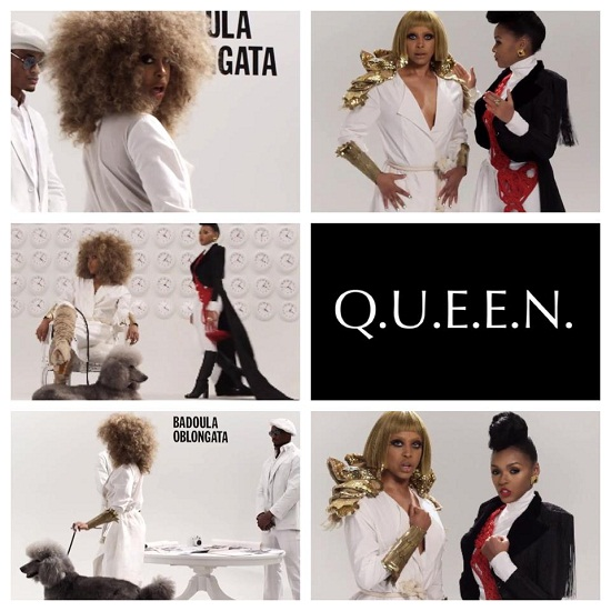 Janelle Monae feat Erykah Badu's Q.U.E.E.N. geremixt door Prince