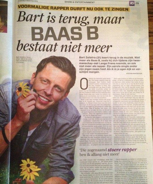 Bart Zeilstra in AD