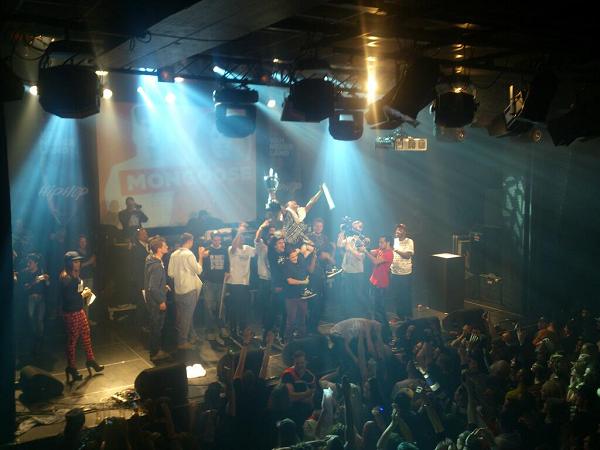 Prijsuitreiking van de Grote Prijs van Nederland 2013 Hiphopfinale