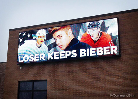 Loser Keeps Bieber