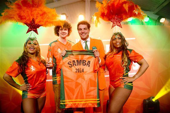 Maak een #Sambieselfie met het Heineken Sambashirt