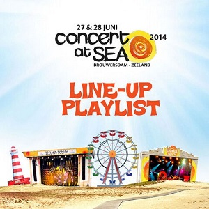 Concert At Sea 2014 Spotify Playlist