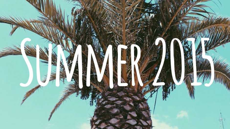 Zomerse 2015 Spotify Playlist