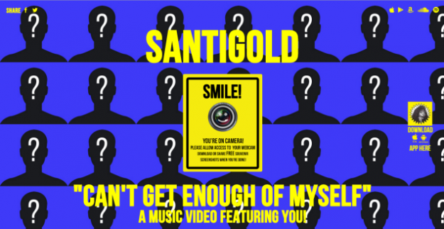 Santigold-Can't Get Enough Of Myself (interactive video)