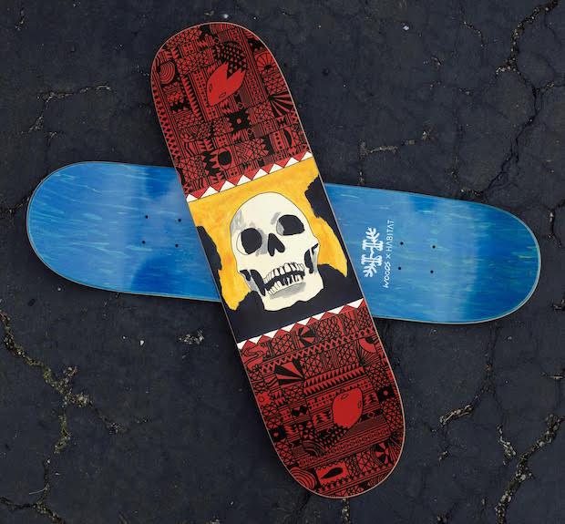 Woods brengt album uit als skateboard