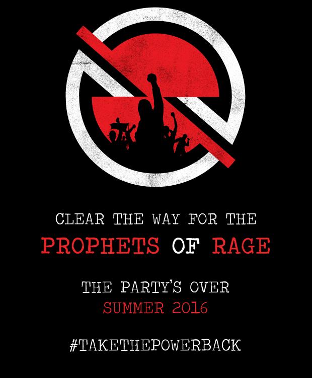 Prophets of Rage: Chuck D, B-Real en 3/4 van Rage Against The Machine