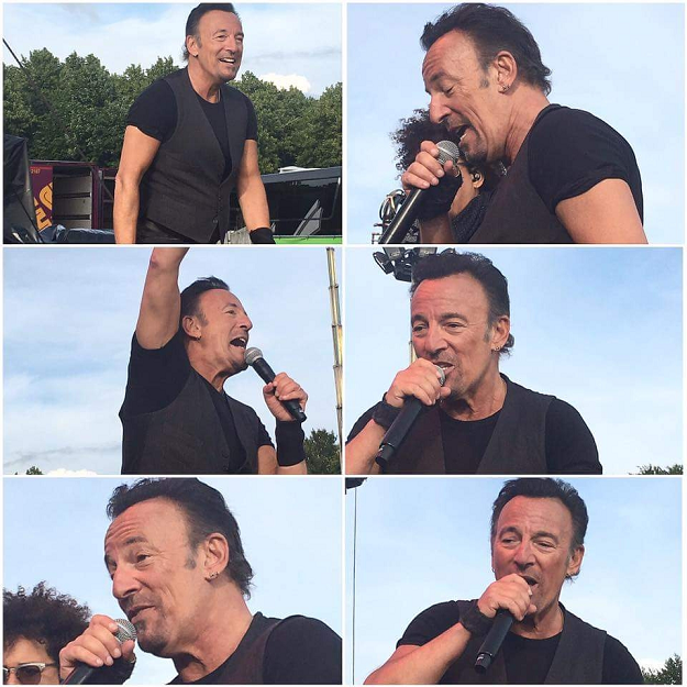 Bruce Springsteen Malieveld Den haag 14 juni 2016